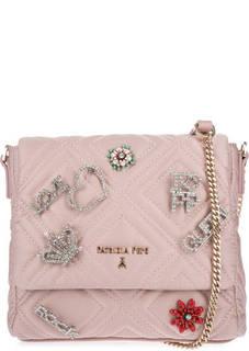 Маленькая текстильная сумка с откидным клапаном Patrizia Pepe