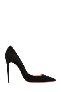 Черные замшевые туфли Iriza 100 Christian Louboutin