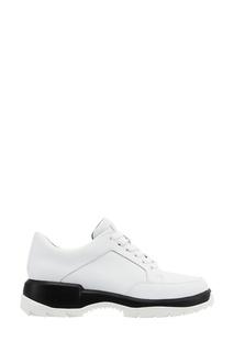 Белые кожаные кроссовки Camper