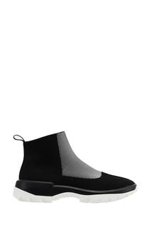 Черные текстильные кроссовки Camper