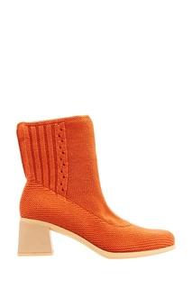 Оранжевые ботинки из джерси Camper