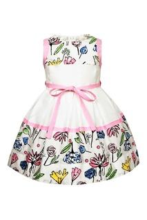 Платье без рукавов с расклешенной юбкой Simonetta Mini