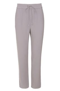 Серые брюки с узкими лампасами Mila Marsel