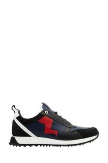 Комбинированные кроссовки Fendi