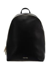 Черный рюкзак с логотипом Calvin Klein