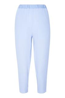 Укороченные голубые брюки Marni