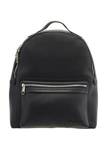 Черный рюкзак с накладным карманом Calvin Klein