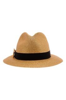 Соломенная шляпа с лентой Ermanno Scervino