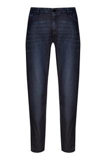 Синие джинсы Fendi