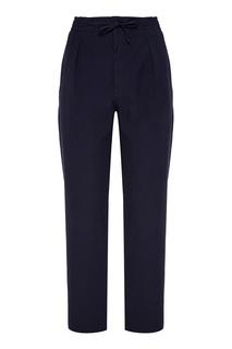 Синие брюки с карманами Fendi
