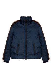 Куртка с меховой отделкой Fendi