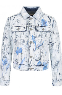 Джинсовая куртка с декорированной отделкой Ralph Lauren
