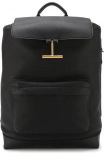 Кожаный рюкзак с клапаном Tom Ford