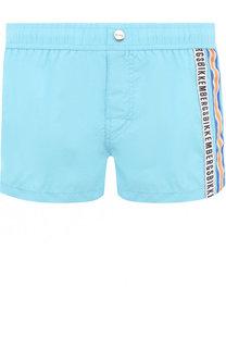 Плавки-шорты с логотипом бренды Dirk Bikkembergs