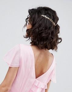 Украшение для волос с цветами ASOS - Золотой