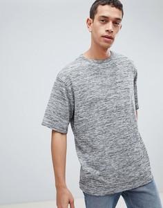 Полихроматическая oversize-футболка Dead Vintage - Серый