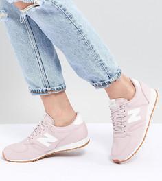 Розовые кроссовки New Balance 420 - Розовый