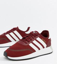 Бордовые кроссовки для бега adidas Originals N-5923 - Красный