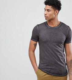 Удлиненная футболка D-Struct TALL - Черный