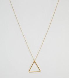 Позолоченное ожерелье с подвеской Ottoman Hands - Золотой