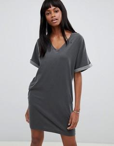 Платье-футболка G-Star - Черный
