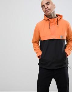 Оранжевая куртка колор блок Carhartt WIP - Оранжевый