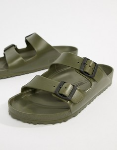 Сандалии хаки Birkenstock Arizona - Зеленый