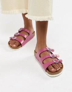 Розовые сандалии Birkenstock Florida - Розовый