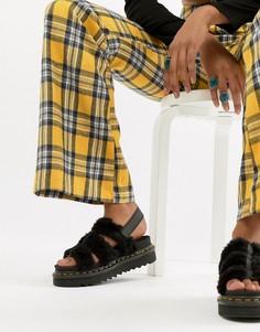 Черные сандалии Dr.Martens Yelena - Черный