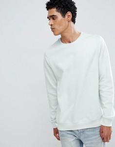 Свитшот мятного цвета Burton Menswear - Синий
