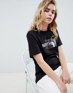 Черная футболка The North Face Easy - Черный