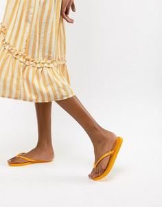 Шлепанцы с логотипом Havaianas - Желтый
