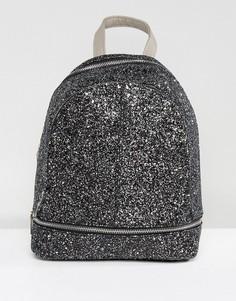Рюкзак с блестками Yoki - Черный