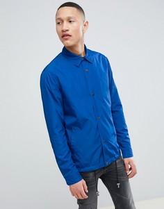 Синяя спортивная куртка ASOS DESIGN - Синий