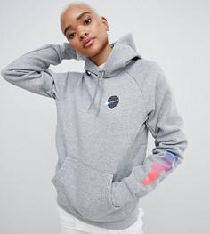 Серый худи с логотипом Nike Sb Icon - Серый