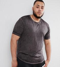 Длинная футболка D-Struct PLUS - Черный