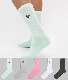5 пар спортивных носков Urban Eccentric - Мульти