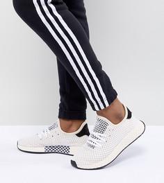 Белые кроссовки adidas Originals Deerupt Runner - Черный
