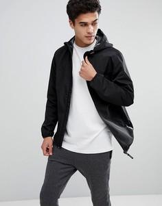 Водоотталкивающая куртка с капюшоном Tom Tailor - Черный