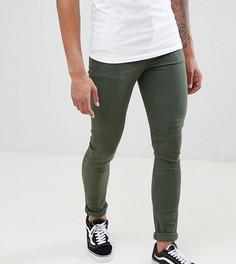 Зеленые джинсы скинни ASOS DESIGN Tall - Зеленый