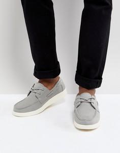 Серые мокасины Eastland Popham - Серый
