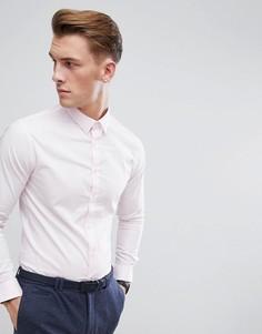 Розовая узкая строгая рубашка с длинными рукавами Celio - Розовый