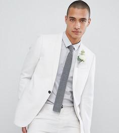 Приталенный пиджак Noak Wedding - Белый