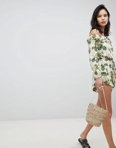 Комбинируемые шорты с оборками Honey Punch Bloomer - Мульти