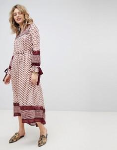Платье макси в стиле бохо Maison Scotch - Мульти
