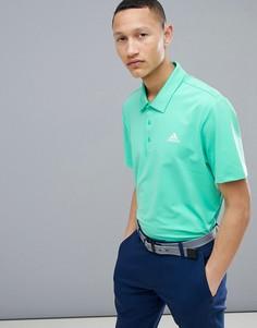 Зеленая футболка-поло adidas Golf Ultimate 365 CY5399 - Зеленый