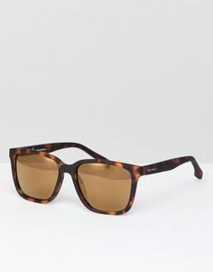 Квадратные солнцезащитные очки в коричневой оправе Jack Wills - Коричневый