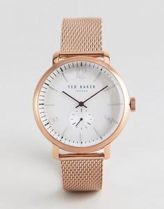 Часы Ted Baker TE50015010 Oliver - 43 мм - Золотой