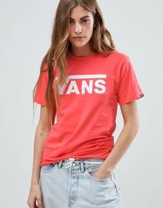 Футболка Vans - Оранжевый