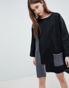 Джинсовое платье Waven Eira - Черный
